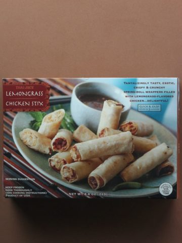 Trader Joe's Lemongrass Chicken Stix