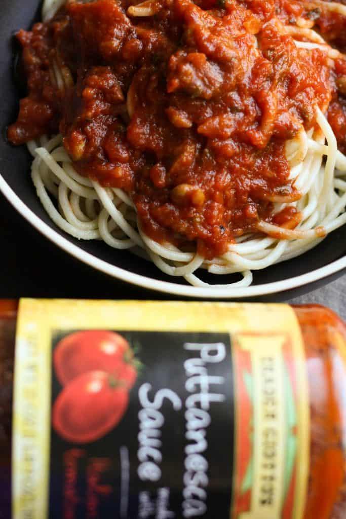 Trader Joe's Puttanesca Sauce