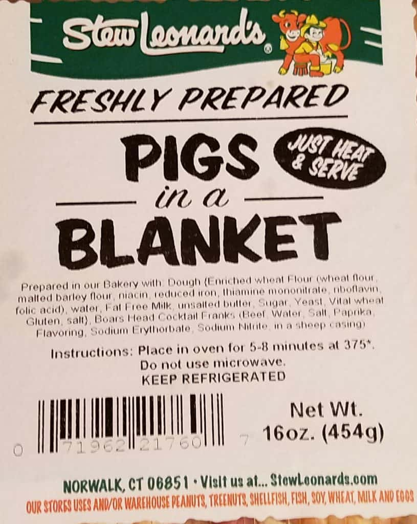 Stew Leonard's Pigs in a Blanket