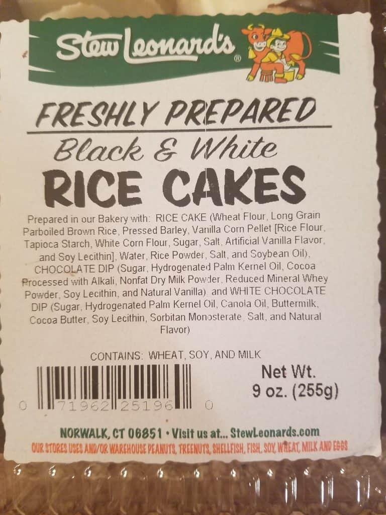 Stew Leonard's Chocolate Covered Rice Cakes