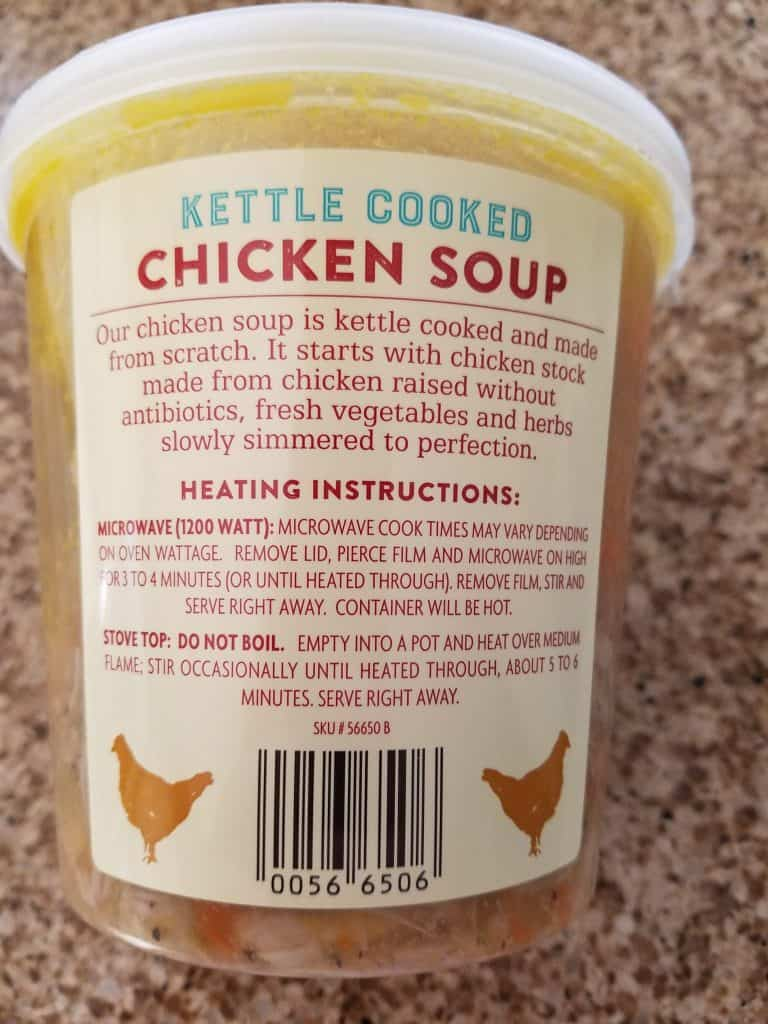 Trader Joe's Kettle Cooked Chicken Soup