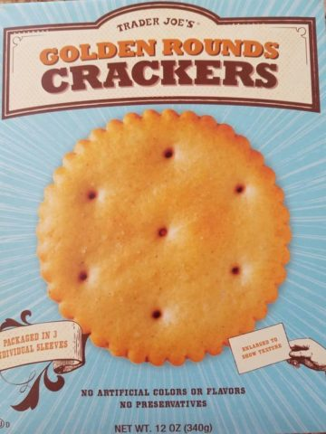 Trader Joes Golden Rounds Crackers