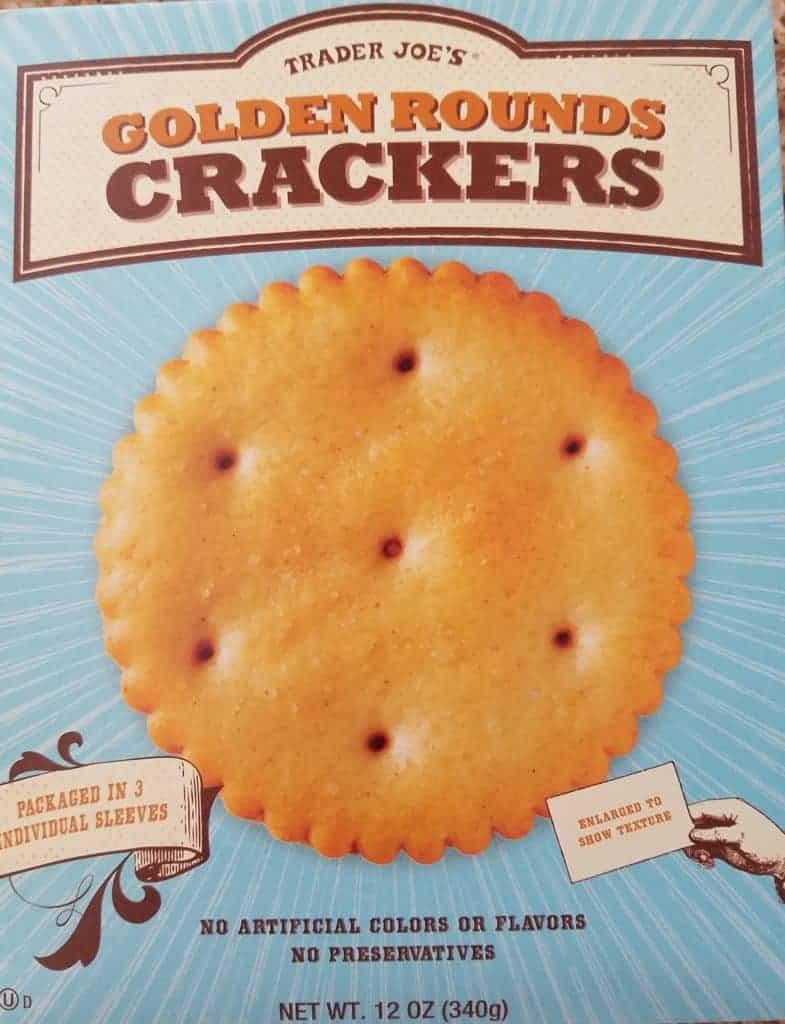 Trader Joe's Golden Round Crackers