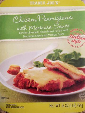 Trader Joes Chicken Parmigiana