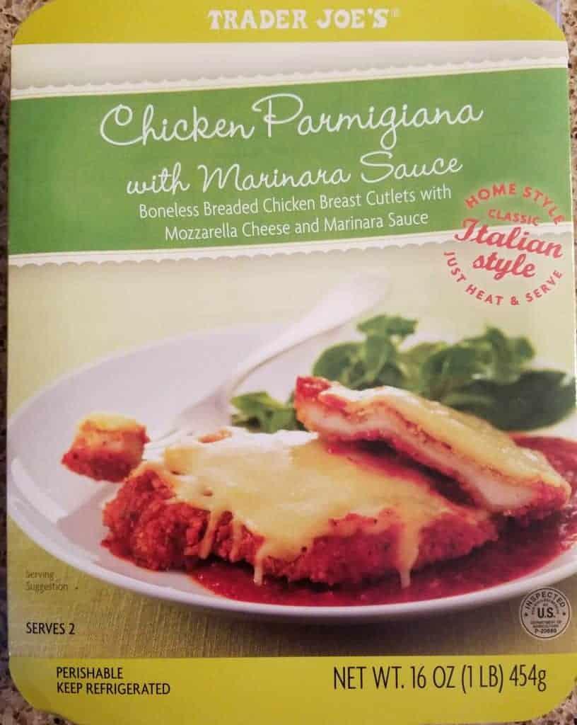 Trader Joe's Chicken Parmigiana