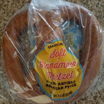 Trader Joes Soft Handmade Pretzel