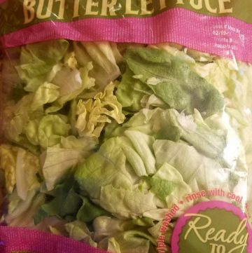 Trader Joe's Butter Lettuce