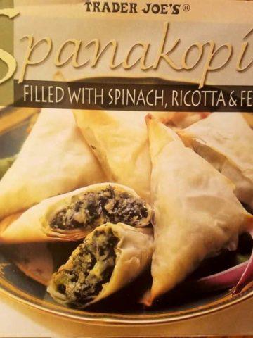 Trader Joes Spanakopita Spinach Pie