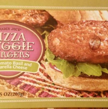 Trader Joes Pizza Veggie Burgers