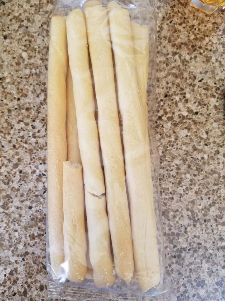 Trader Joe's Italian Breadsticks with Olive Oil