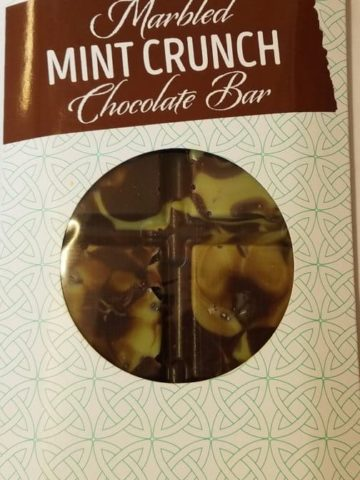 Trader Joes Marbled Mint Crunch Chocolate Bar