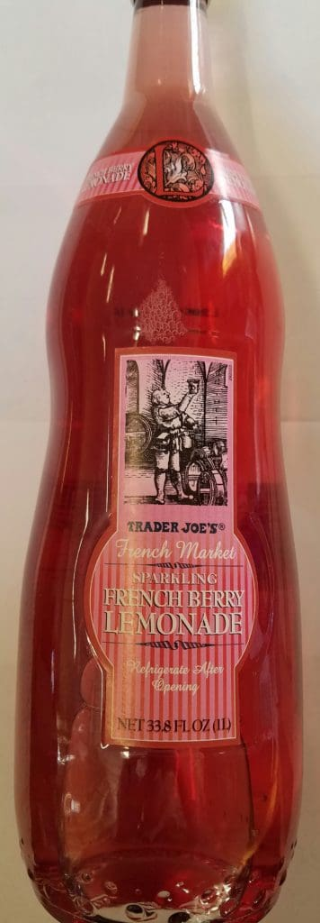 Trader Joes Sparkling French Berry Lemonade