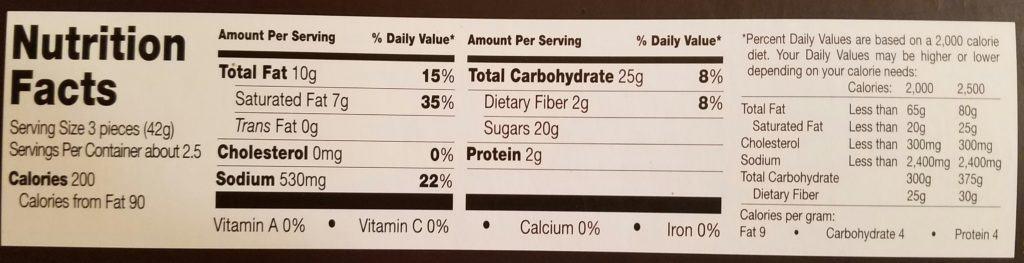 Trader Joe's Dark Chocolate Sea Salt and Malt Vinegar Caramels