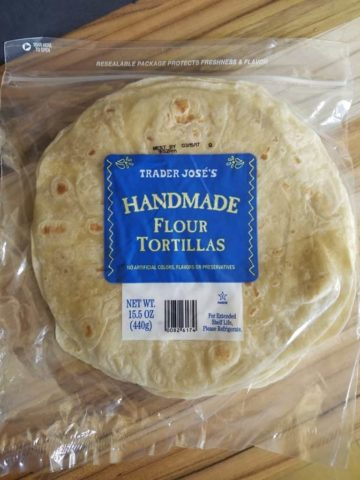 Trader Joe's Handmade White Tortillas