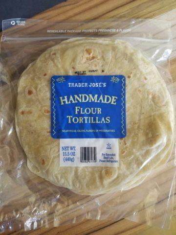 Trader Joe's Handmade White Tortillas