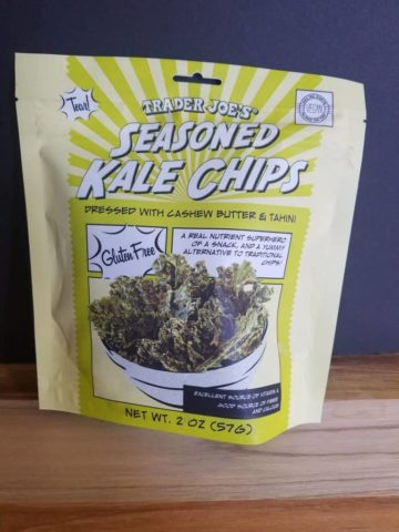 Trader Joe's Seasoned Kale Chips