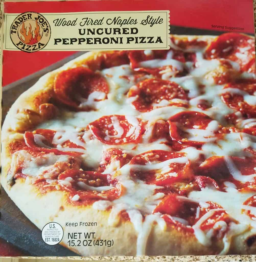 Trader Joe's Pepperoni Pizza