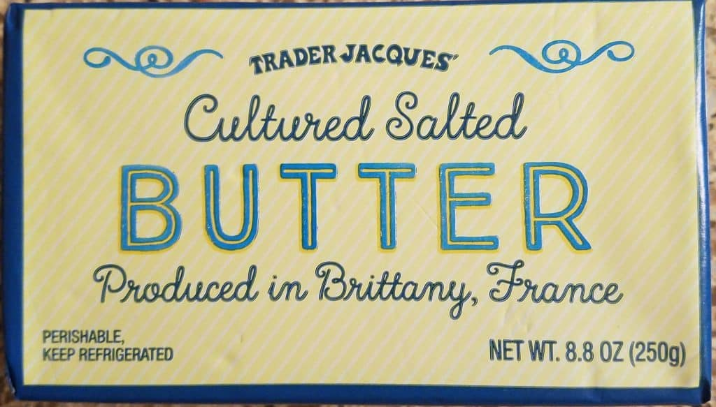 Trader Joe's Cultured Salted Butter