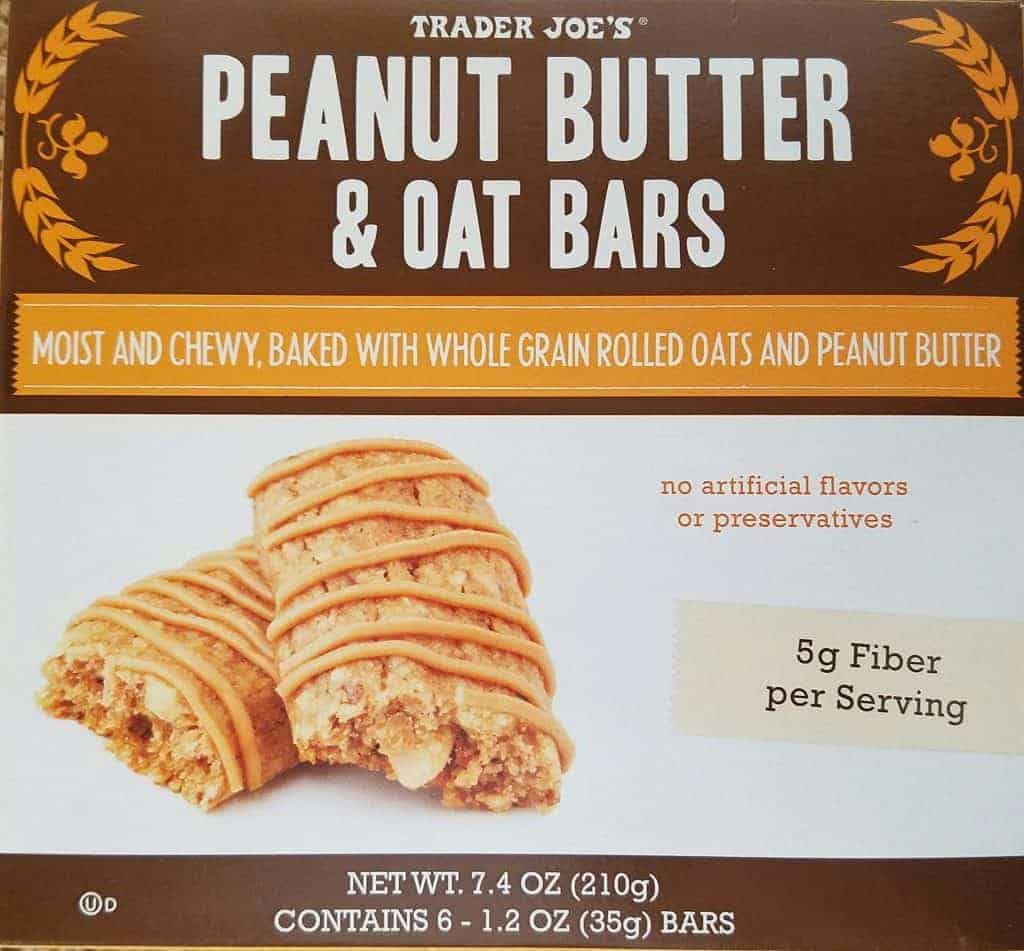 Trader Joe's Peanut Butter and Oat Bars
