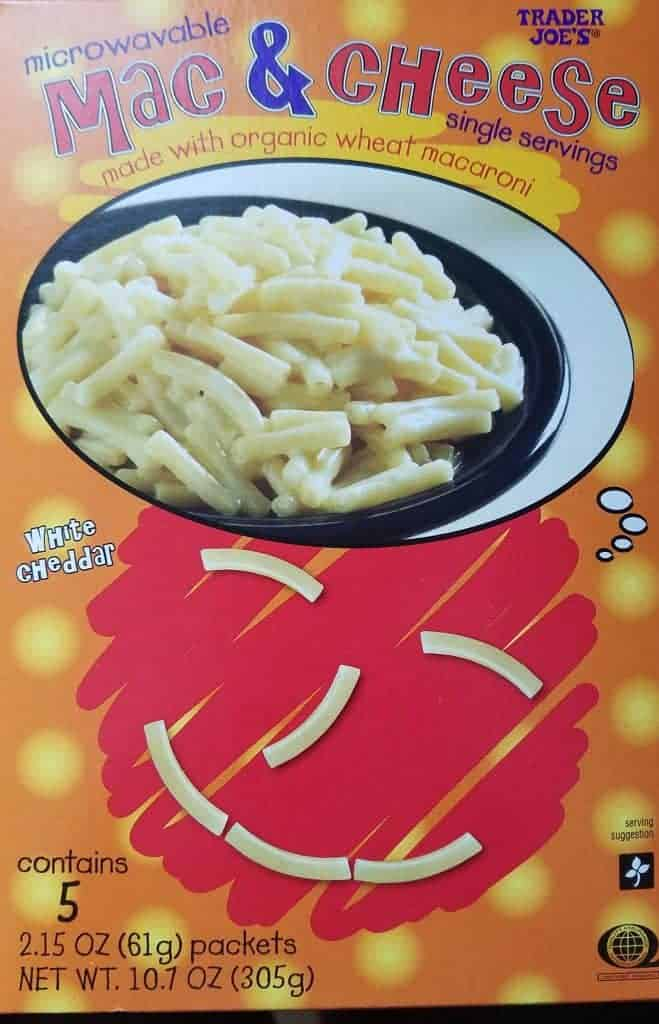 Trader Joe's Microwavable Mac and Cheese