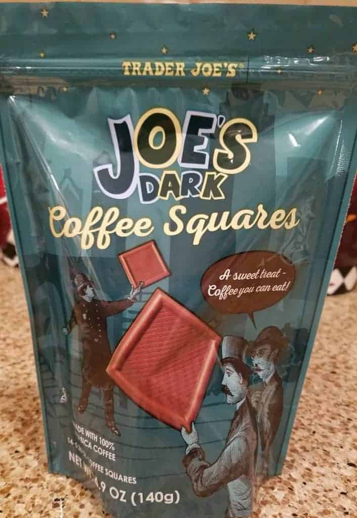 Trader Joe's Joes Dark Coffee Squares