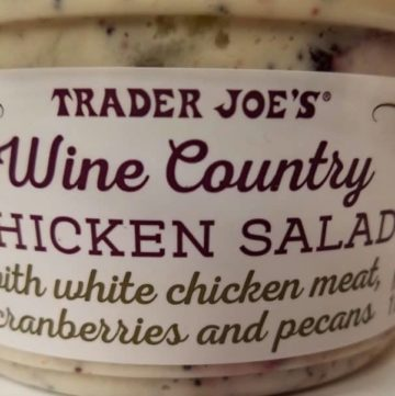 Trader Joe's Wine Country Chicken Salad