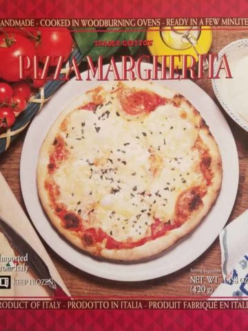 Trader Joe's Pizza Margherita