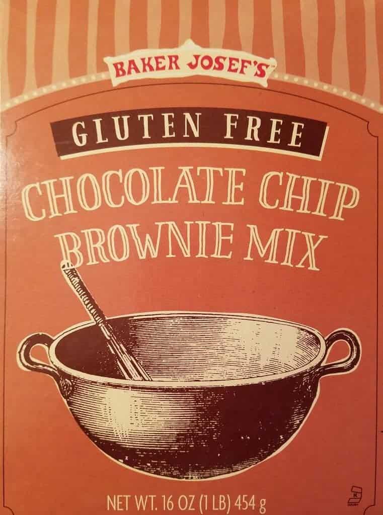 Trader Joe's Gluten Free Chocolate Chip Brownie Mix