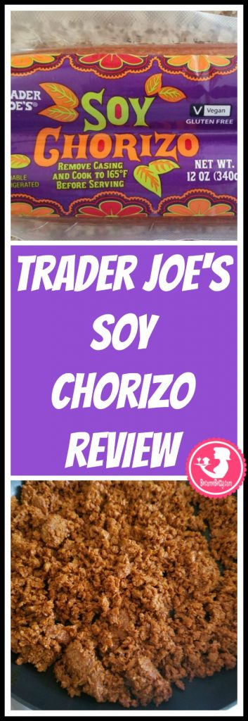 Trader Joe's Soy Chorizo review. Want to know if this is something worth putting on your shopping list from Trader Joe's? All pins link to BecomeBetty.com where you can find reviews, pictures, thoughts, calorie counts, nutritional information, how to prepare, allergy information, and price.