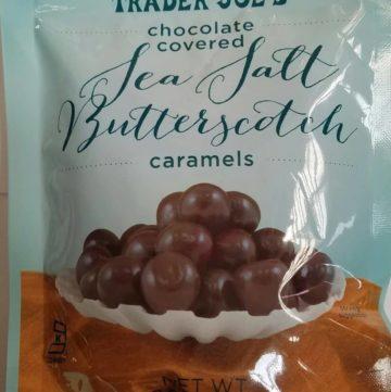 Trader Joe's Chocolate Covered Sea Salt Butterscotch Caramels