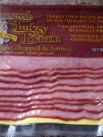 Trader Joe's Uncured Turkey Bacon