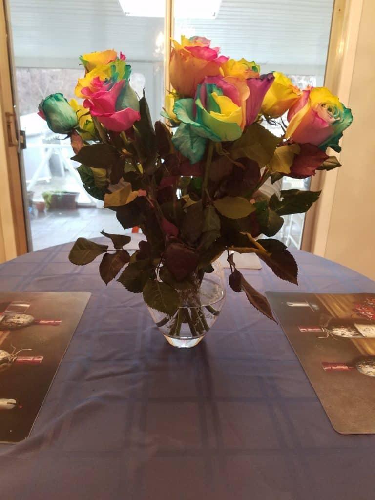 Stew Leonard's Rainbow Roses