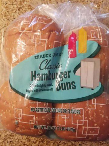 Trader Joe's Hamburger Buns
