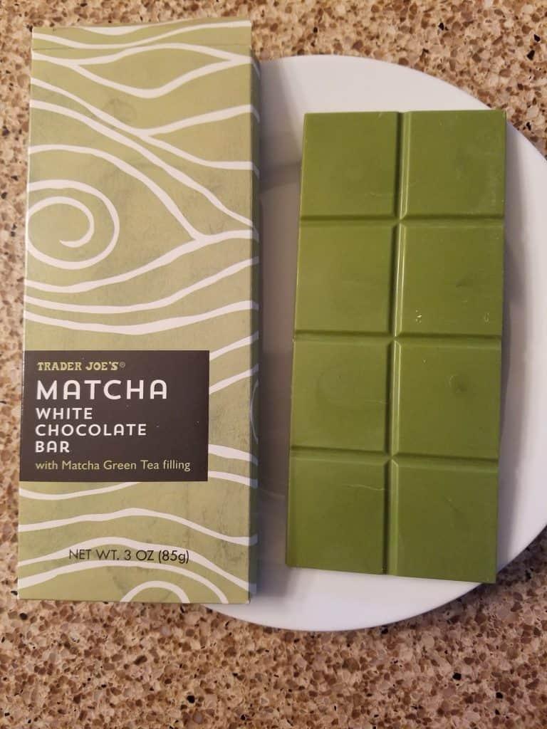 Trader Joe's Matcha White Chocolate Bar