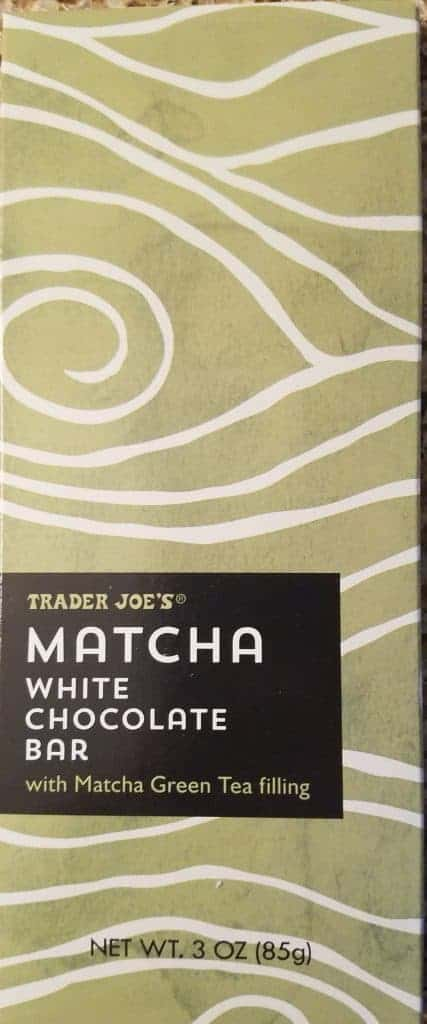Trader Joe's Matcha White Chocolate Bar