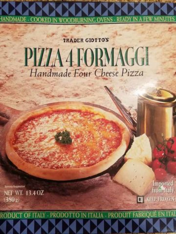 Trader Joe's Pizza 4Formaggi