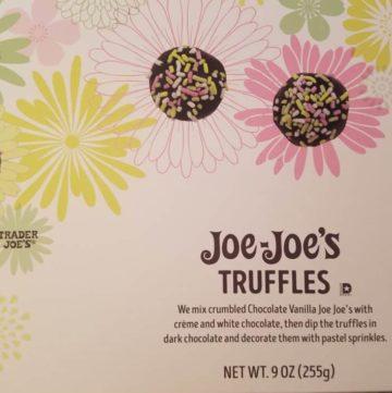 Trader Joe's Joe Joes Truffles