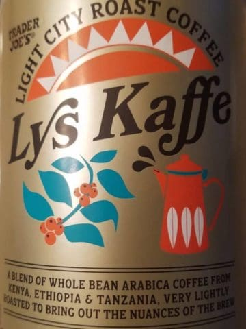 Trader Joe's Lys Kaffe Coffee