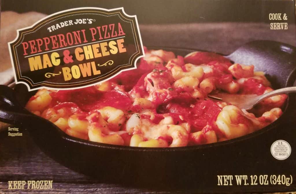 Trader Joe's Pepperoni Pizza Mac and Cheese | BecomeBetty.com