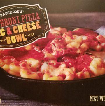 Trader Joe's Pepperoni Pizza Mac and Cheese