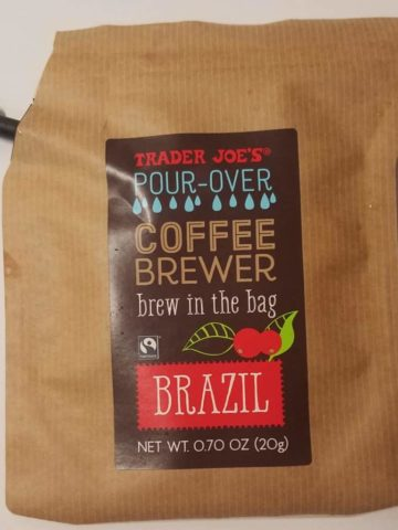 Trader Joe's Pour Over Coffee Brewer