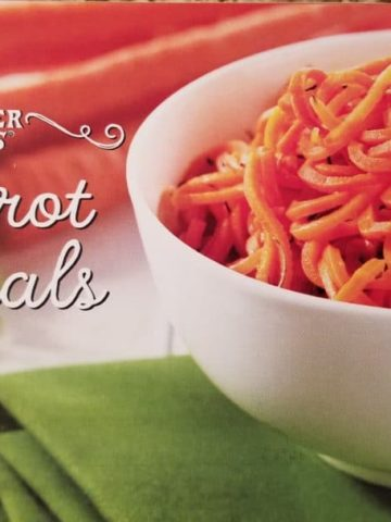 Trader Joe's Carrot Spirals