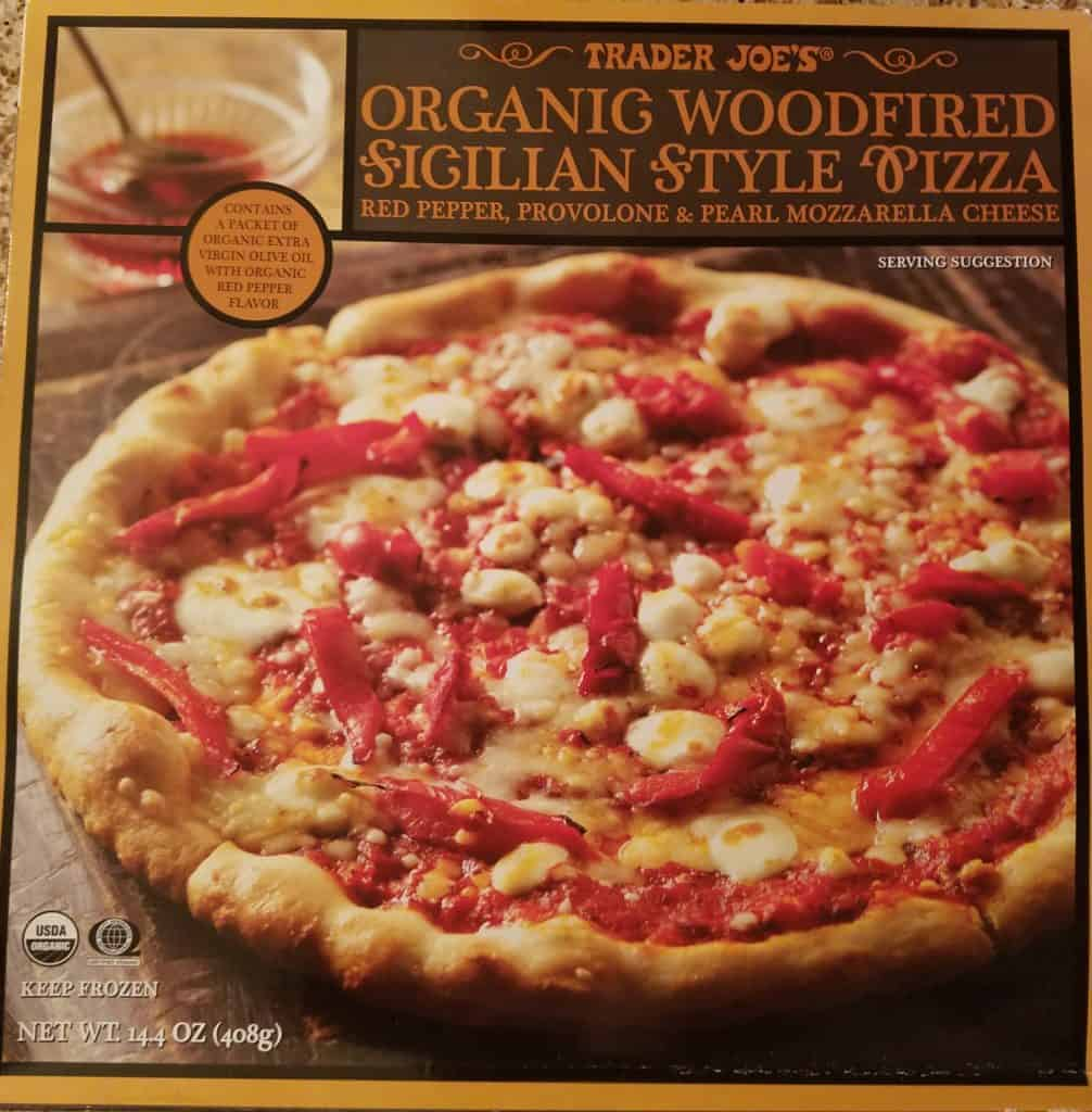 Trader Joe's Organic Sicilian Style Pizza packaging