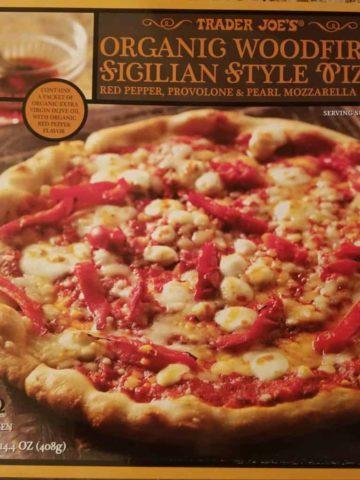Trader Joe's Organic Sicilian Style Pizza