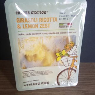 Trader Joe's Girasoli Ricotta and Lemon Zest