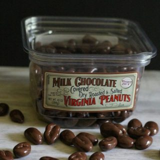 Trader Joe's Milk Chocolate Covered Dry Roasted and Salted Virginia Peanuts