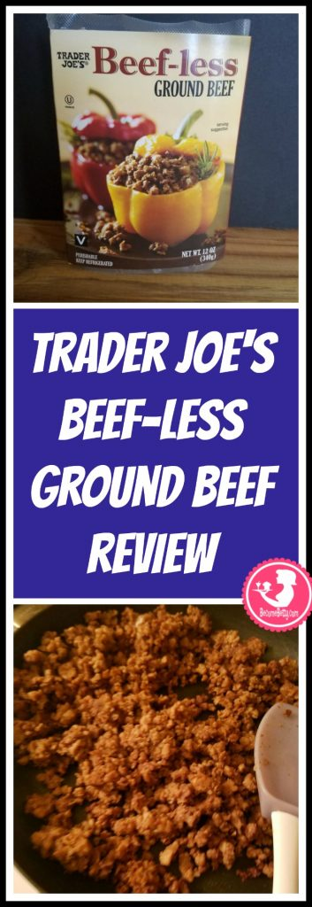 Trader Joe's Beefless Ground Beef review. Want to know if this is something worth putting on your shopping list from Trader Joe's? All pins link to BecomeBetty.com where you can find reviews, pictures, thoughts, calorie counts, nutritional information, how to prepare, allergy information, price, and how to prepare each product.