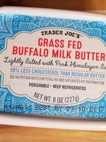 Trader Joe's Buffalo Milk Butter