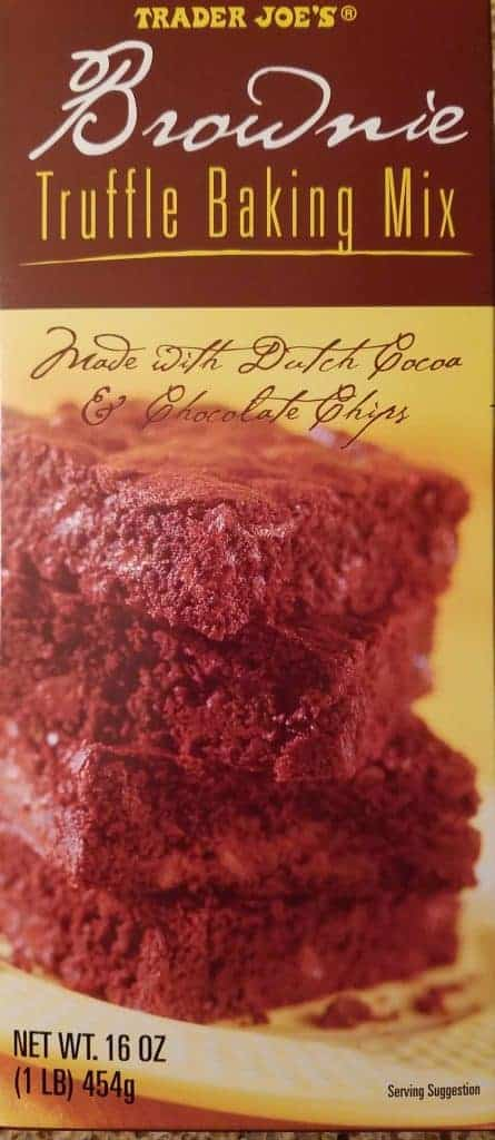 trader joe 39 s brownie truffle baking mix. Black Bedroom Furniture Sets. Home Design Ideas