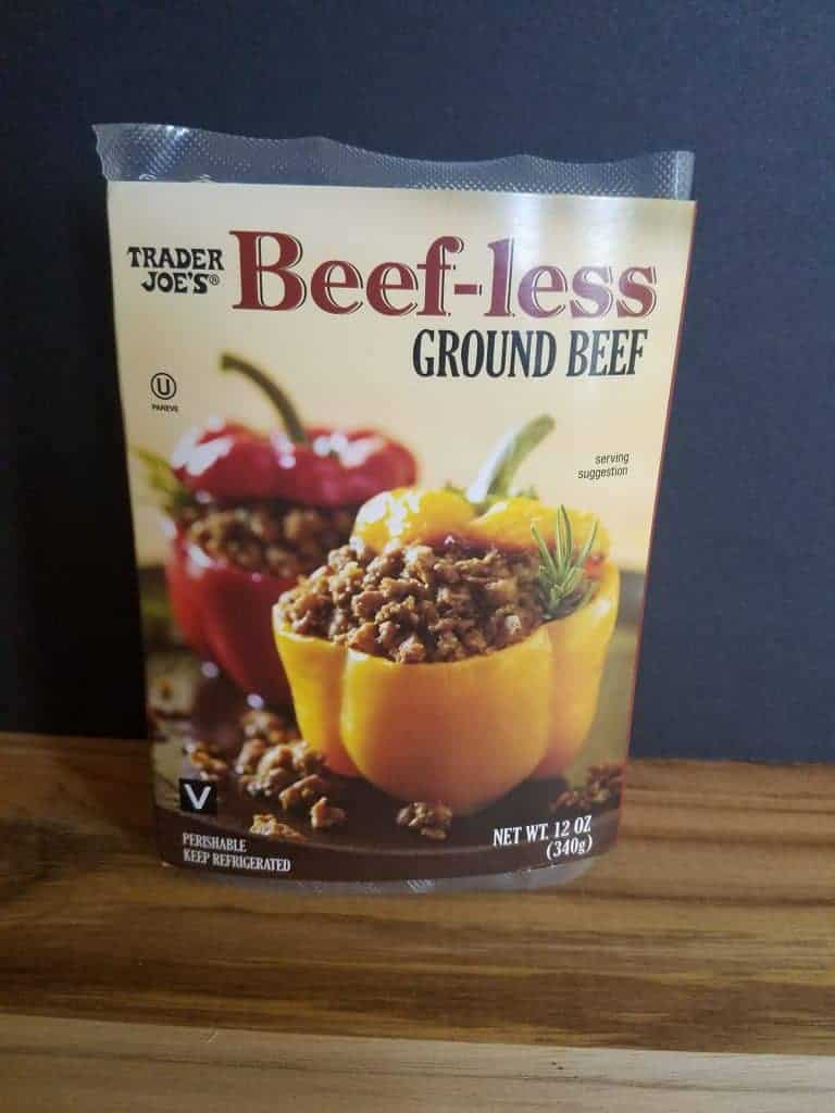 Trader Joe's Beefless Ground Beef